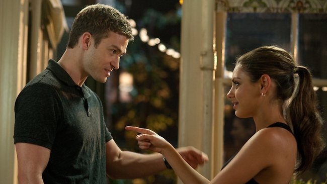 mila kunis friends with benefits scene